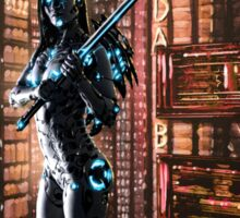 Cyberpunk Painting 061 Sticker