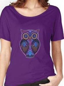 Ornate Owl 9 Women's Relaxed Fit T-Shirt