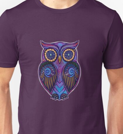 Ornate Owl 9 Unisex T-Shirt