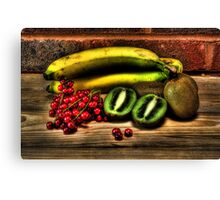 table fruits Canvas Print