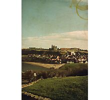 Vintage Whitby  Photographic Print