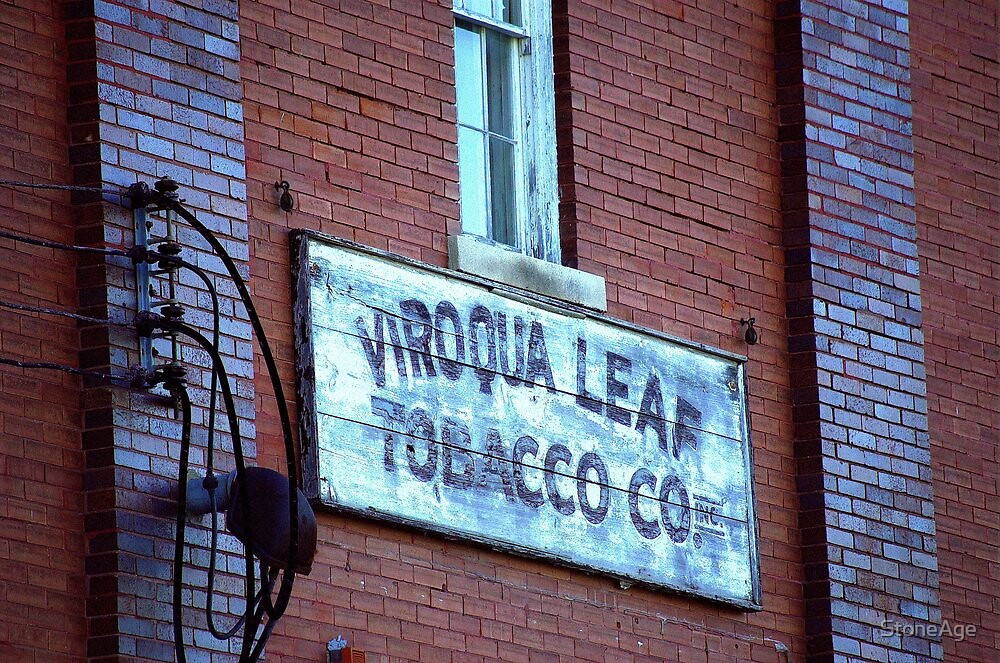 tobacco was king by StoneAge
