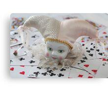 Poker face ...... Canvas Print