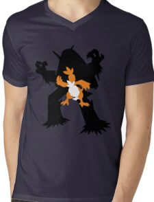 Torchic - Combusken - Blaziken Mens V-Neck T-Shirt