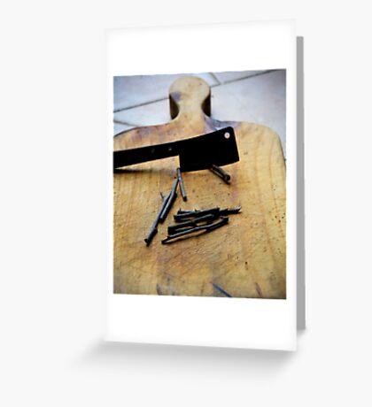 Chop sticks  Greeting Card