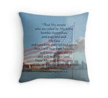 Lest We Forget Throw Pillow