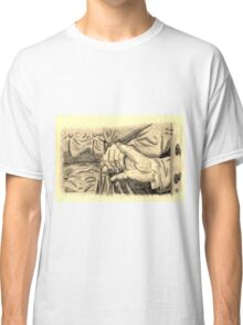 Hands in sepia Classic T-Shirt