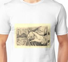 Hands in sepia Unisex T-Shirt