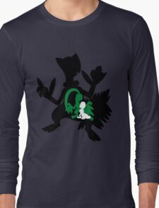 Treecko - Grovyle - Sceptile Long Sleeve T-Shirt