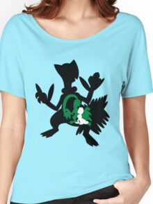 Treecko - Grovyle - Sceptile Women's Relaxed Fit T-Shirt