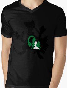 Treecko - Grovyle - Sceptile Mens V-Neck T-Shirt