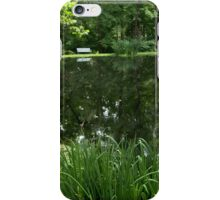 At the pond from A Gardener's Notebook iPhone Case/Skin
