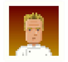 Chef Gordon Ramsay Art Print