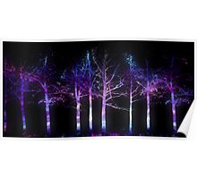 Neon Forest Poster