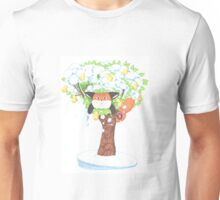 A Fat Fox In A Pear Tree Unisex T-Shirt