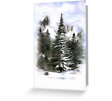 Mountain Symphony........ Greeting Card