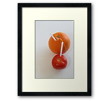 No this is what I call healthy !! Framed Print