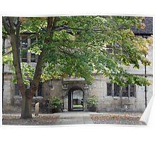 The Kings Manor III, Courtyard - York, English Heritage Poster