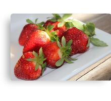 Strawberry Delight Canvas Print