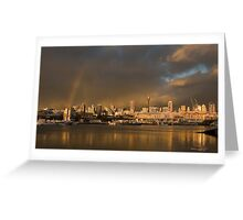 Sydney after storm Greeting Card