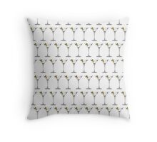 Martinis!  Throw Pillow