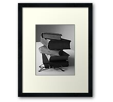 You can never read to much  Framed Print