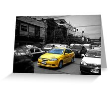 Thailand Taxis Part two Greeting Card