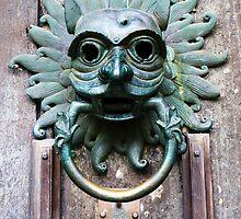 Sanctuary Knocker, Durham Cathedral. by artfulvistas
