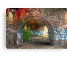 Urban decay-under the bridge Metal Print