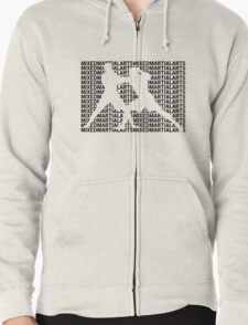 Mixed Martial Arts Cage Fighting Zipped Hoodie