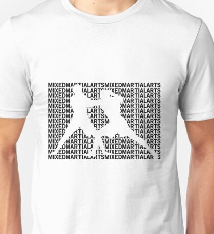 Mixed Martial Arts Cage Fighting Unisex T-Shirt