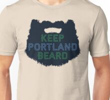Keep Portland Beard Unisex T-Shirt