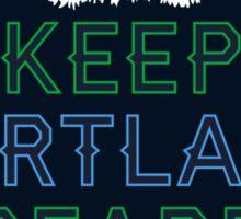Keep Portland Beard Sticker