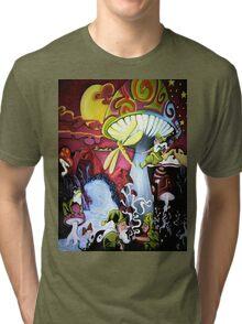 Shroomie Landscape Tri-blend T-Shirt