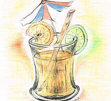 Fresh Orange Drink  by Teresa White