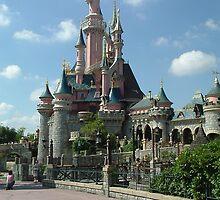 Disneyland Paris castle by ANDREW BARKE