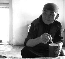 Elderly Kyrgyz Woman by janekeeler