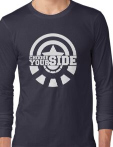 Civil War - Choose Your Side Long Sleeve T-Shirt