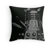darlek mono moody Throw Pillow