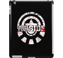 Civil War - Choose Your Side iPad Case/Skin