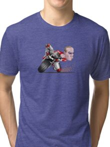 Knee Down Tri-blend T-Shirt