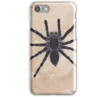 Realism Charcoal Drawing of Spider iPhone Case/Skin