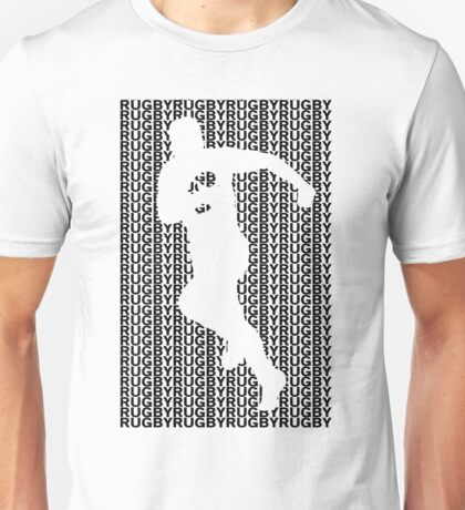 Rugby Player with Ball Unisex T-Shirt