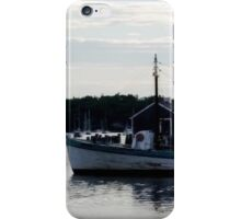"Boothbay Harbor ""Vessel"" iPhone Case/Skin"