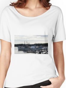 "Boothbay Harbor ""Vessel"" Women's Relaxed Fit T-Shirt"