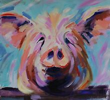 Happy Pig by Karen Boozer