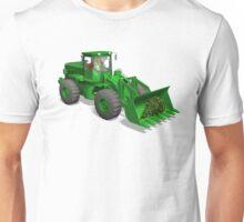 Santa Claus Drives A Caterpillar Unisex T-Shirt