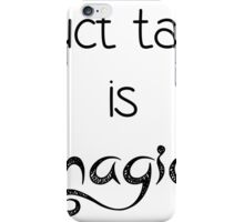 The Martian Duct Tape Quote iPhone Case/Skin