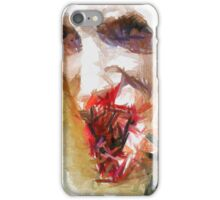 Face of a Vampie by Sarah Kirk iPhone Case/Skin