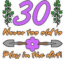 30th Birthday For Gardeners by thepixelgarden
